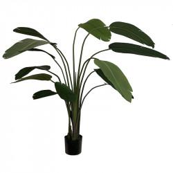 Vit papegojväxt, H190cm, Konstgjord Växt