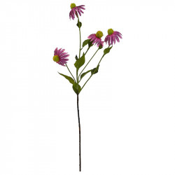 Rosa Solhatt 90 cm, konstgjord blomma
