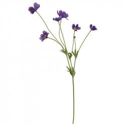 Rosenskära-kvist, 69 cm Lila, Konstgjord blomma