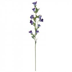 Klocka blomma på stjälk, 88cm, lila, konstgjord blomma
