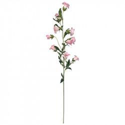 Klocka blomma på stjälk, 88cm, ljusrosa, konstgjord blomma