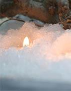Konstgjord snö och snömattor
