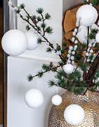 Snöbollar och snögubbar